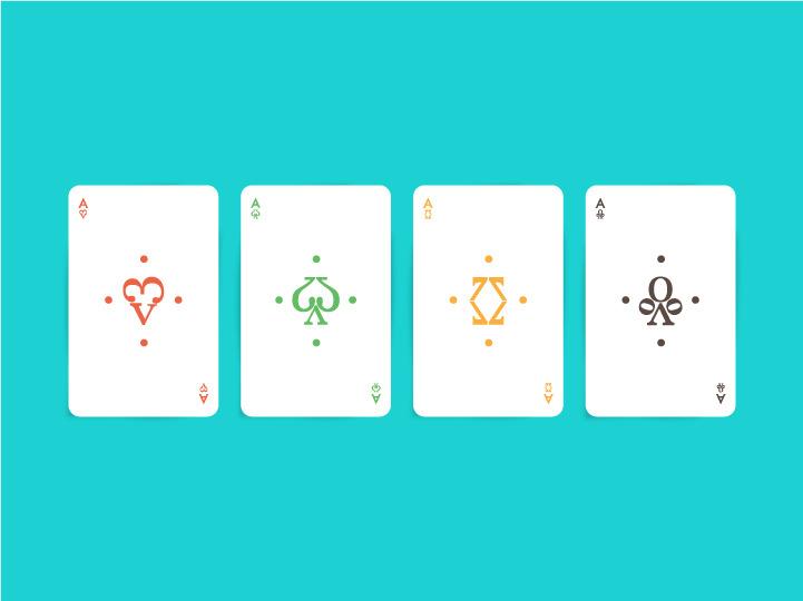 Typographic Playing Card - Mahatma Putri